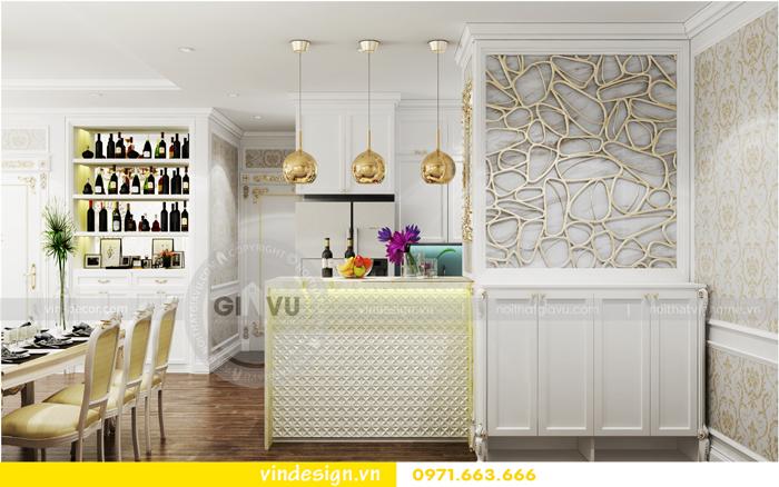 thiết kế nội thất chung cư 2 phòng ngủ đẹp vinhomes d capitale 04