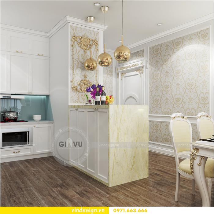 thiết kế nội thất chung cư 2 phòng ngủ đẹp vinhomes d capitale 05