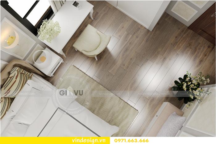 thiết kế nội thất chung cư 2 phòng ngủ đẹp vinhomes d capitale 08