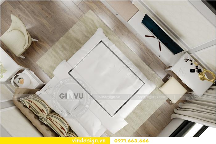 thiết kế nội thất chung cư 2 phòng ngủ đẹp vinhomes d capitale 09