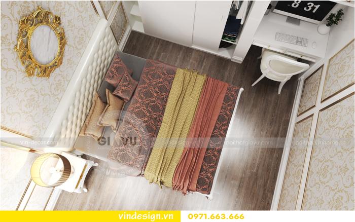 thiết kế nội thất chung cư 2 phòng ngủ đẹp vinhomes d capitale 10