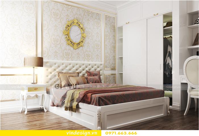 thiết kế nội thất chung cư 2 phòng ngủ đẹp vinhomes d capitale 11