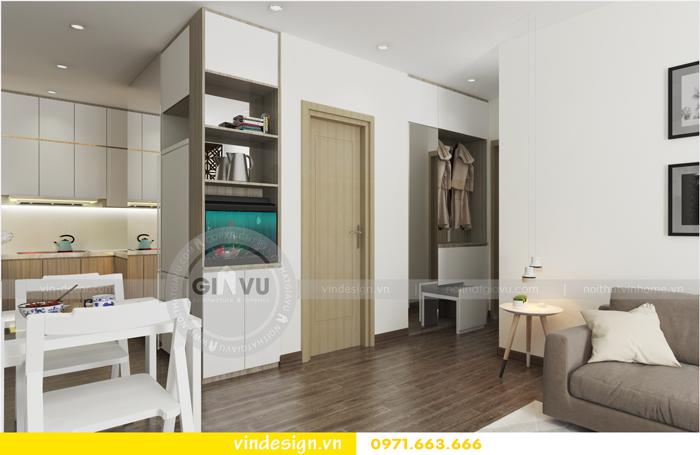 thiết kế nội thất chung cư 3 phòng ngủ đẹp tại vinhomes d capitale 02