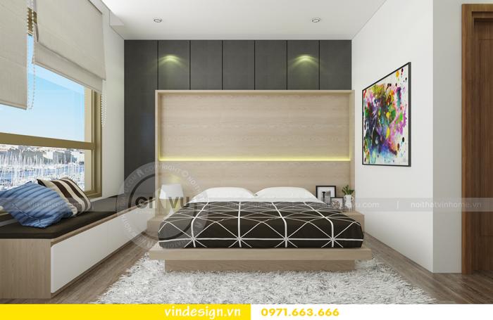 thiết kế nội thất chung cư 3 phòng ngủ đẹp tại vinhomes d capitale 06