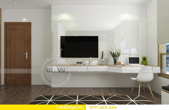 thiết kế nội thất chung cư 3 phòng ngủ đẹp tại vinhomes d capitale 07
