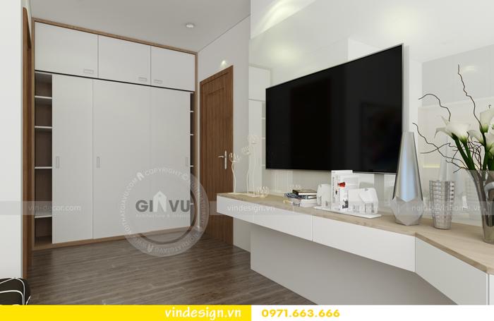 thiết kế nội thất chung cư 3 phòng ngủ đẹp tại vinhomes d capitale 08