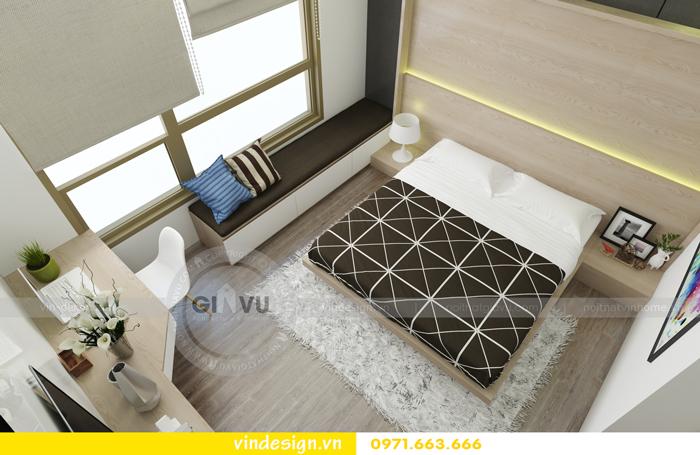thiết kế nội thất chung cư 3 phòng ngủ đẹp tại vinhomes d capitale 09