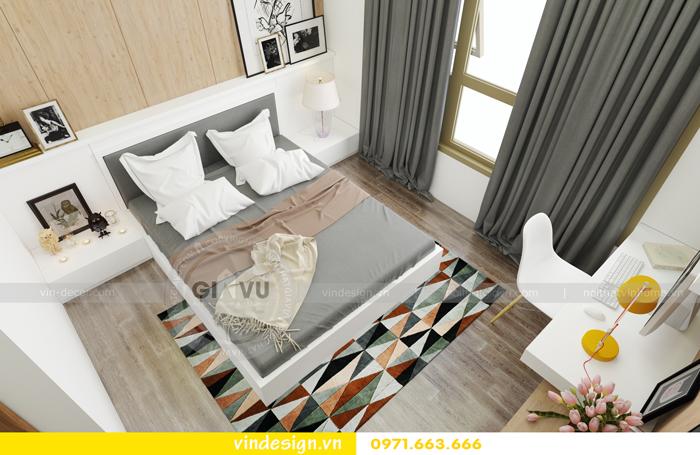 thiết kế nội thất chung cư 3 phòng ngủ đẹp tại vinhomes d capitale 12