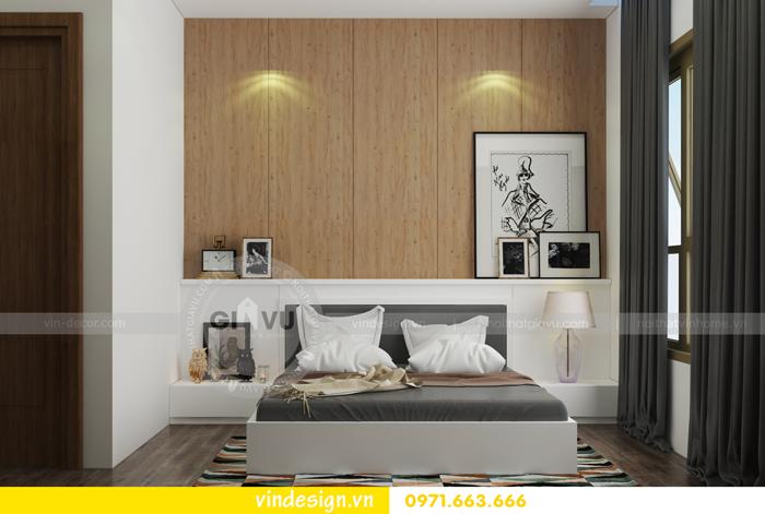 thiết kế nội thất chung cư 3 phòng ngủ đẹp tại vinhomes d capitale 13