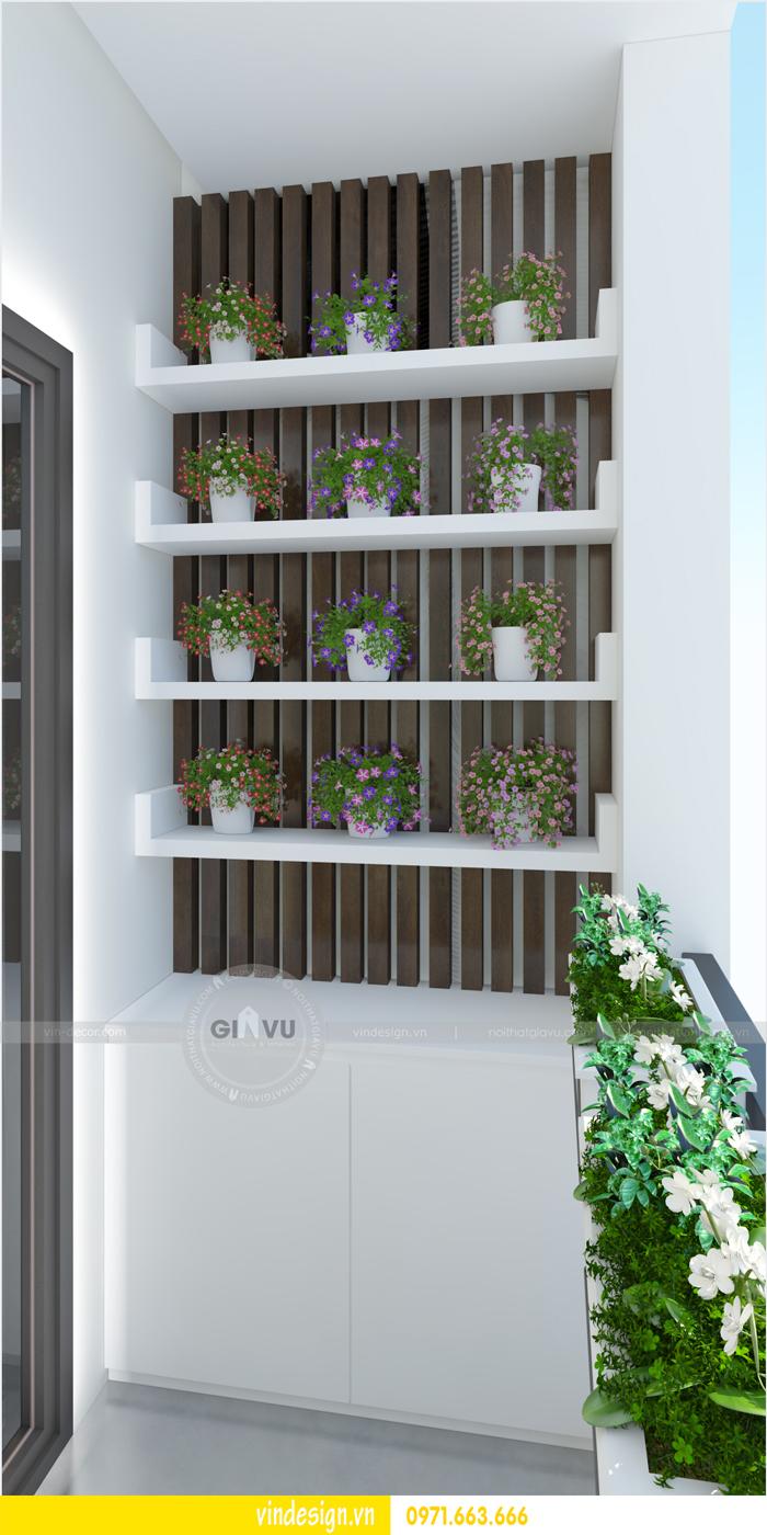 thiết kế nội thất chung cư 3 phòng ngủ đẹp tại vinhomes d capitale 14