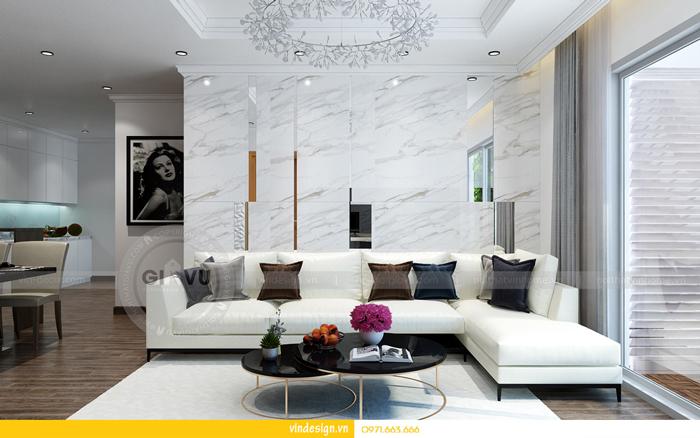 thiết kế nội thất chung cư gardenia tòa A3 01