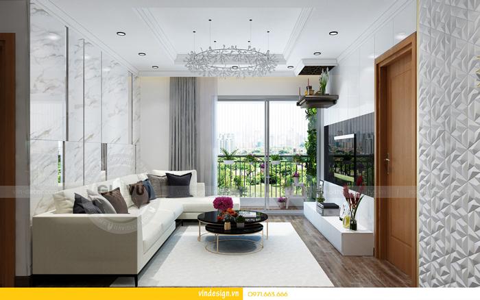 thiết kế nội thất chung cư gardenia tòa A3 03