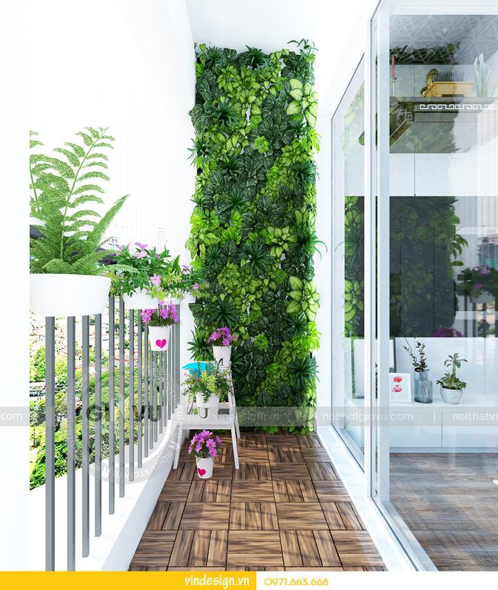 thiết kế nội thất chung cư gardenia tòa A3 07