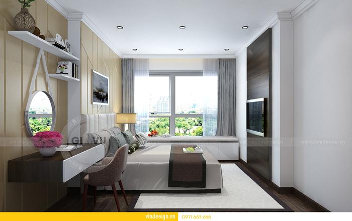 thiết kế nội thất chung cư gardenia tòa A3 09
