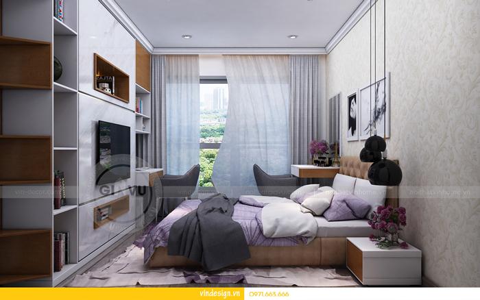 thiết kế nội thất chung cư gardenia tòa A3 12