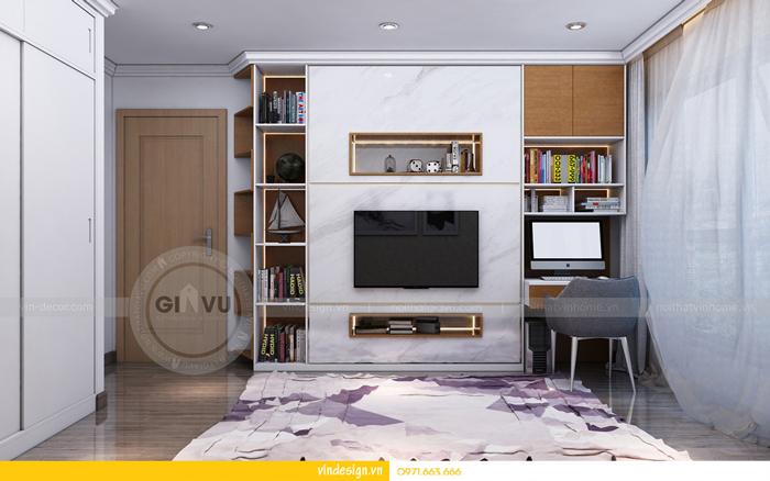 thiết kế nội thất chung cư gardenia tòa A3 14