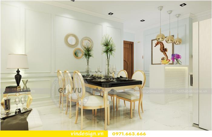thiết kế nội thất chung cư Vinhomes Gardenia tòa A1 02