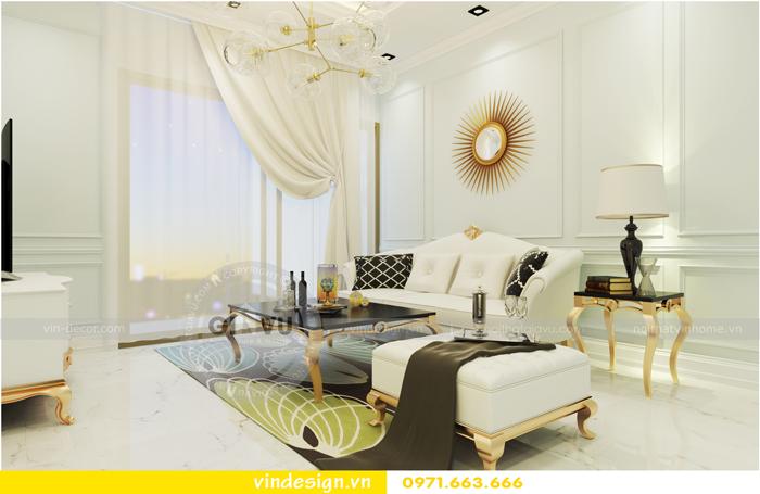 thiết kế nội thất chung cư Vinhomes Gardenia tòa A1 03