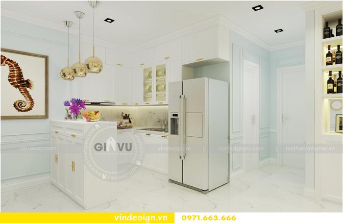 thiết kế nội thất chung cư Vinhomes Gardenia tòa A1 05
