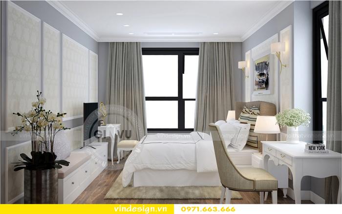 thiết kế nội thất chung cư Vinhomes Gardenia tòa A1 06