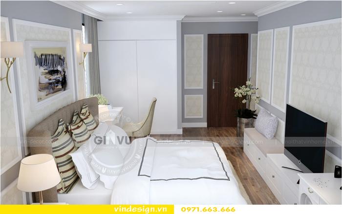 thiết kế nội thất chung cư Vinhomes Gardenia tòa A1 07
