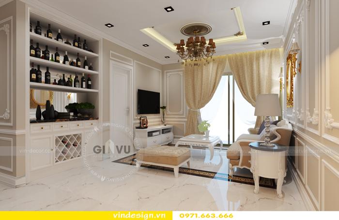 thiết kế nội thất chung cư d capitale tòa C2 01