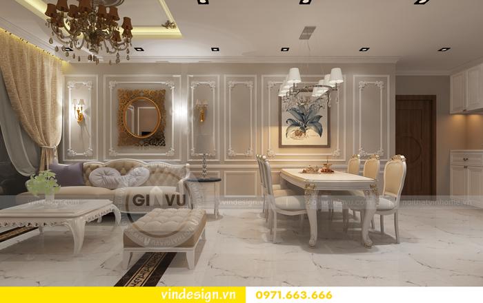 thiết kế nội thất chung cư d capitale tòa C2 02