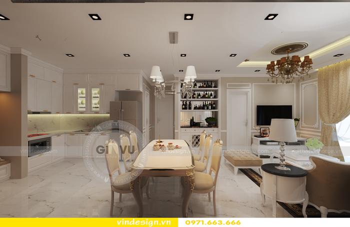 thiết kế nội thất chung cư d capitale tòa C2 05