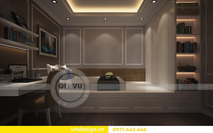 thiết kế nội thất chung cư d capitale tòa C2 06
