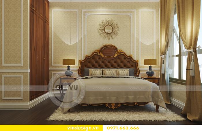 thiết kế nội thất chung cư d capitale tòa C2 09