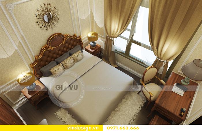 thiết kế nội thất chung cư d capitale tòa C2 10