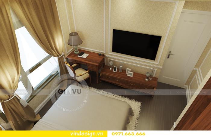 thiết kế nội thất chung cư d capitale tòa C2 11