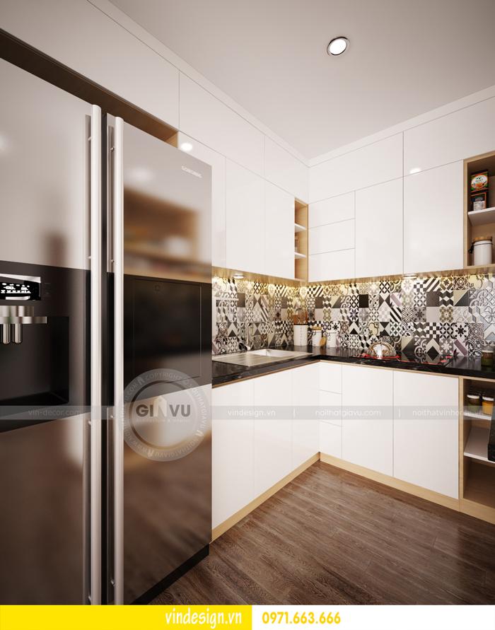 thiết kế nội thất chung cư d capitale tòa C3 04