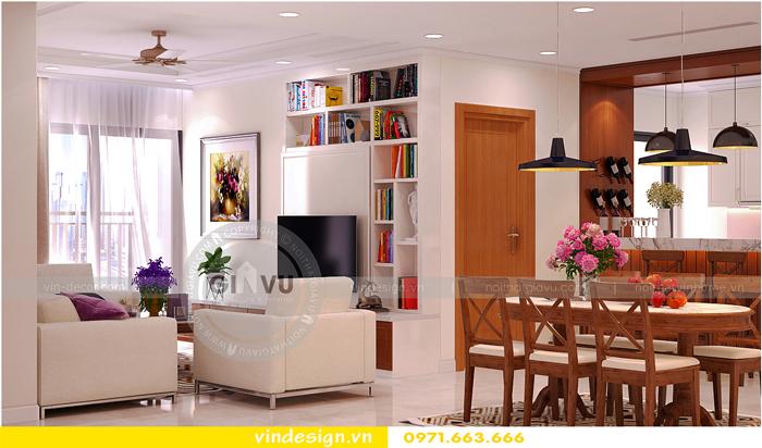 thiết kế nội thất chung cư gardenia mỹ đình 02
