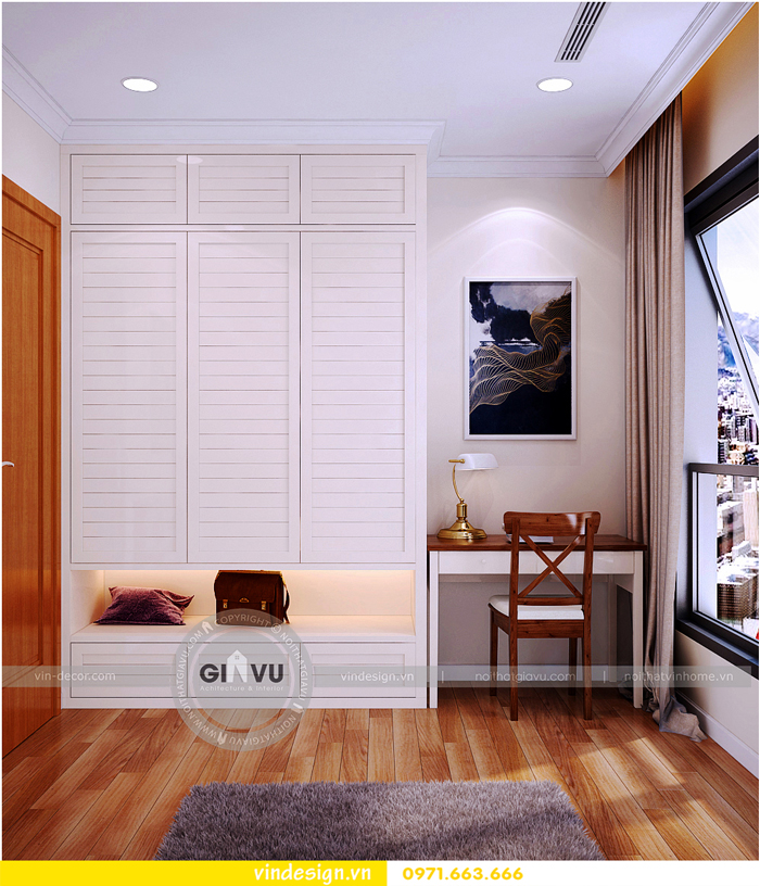 thiết kế nội thất chung cư gardenia mỹ đình 11