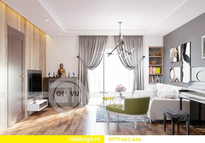 thiết kế nội thất chung cư Gardenia tòa A1 01