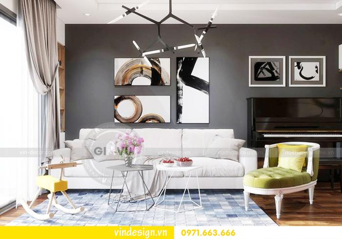 thiết kế nội thất chung cư Gardenia tòa A1 03