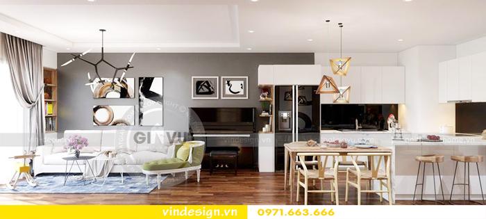 thiết kế nội thất chung cư Gardenia tòa A1 04