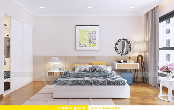 thiết kế nội thất chung cư Gardenia tòa A1 06