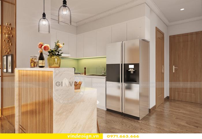 thiết kế nội thất chung cư gardenia tòa A2 03