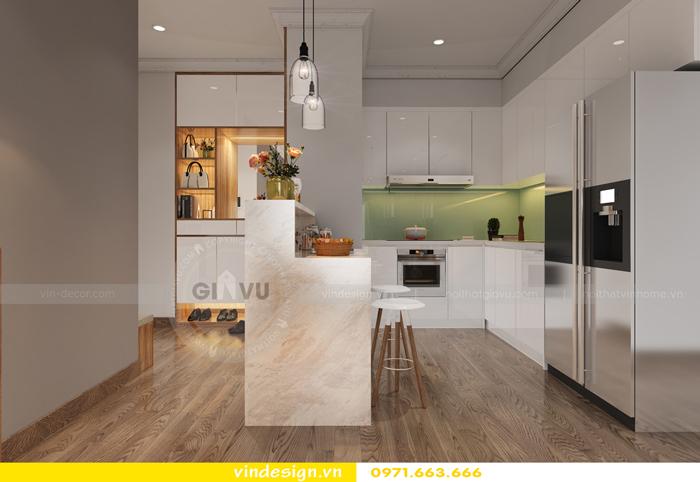 thiết kế nội thất chung cư gardenia tòa A2 04