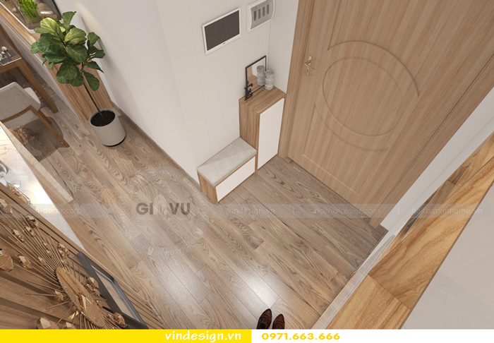 thiết kế nội thất chung cư gardenia tòa A2 05