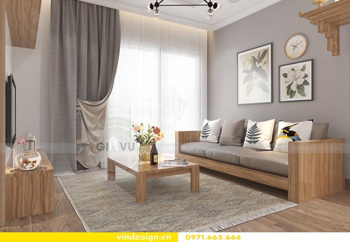 thiết kế nội thất chung cư gardenia tòa A2 06