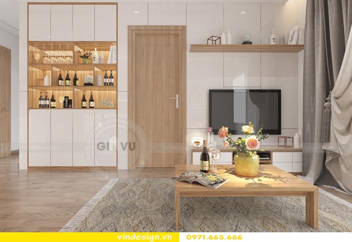 thiết kế nội thất chung cư gardenia tòa A2 07