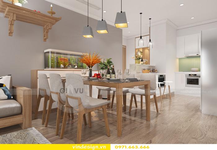 thiết kế nội thất chung cư gardenia tòa A2 09