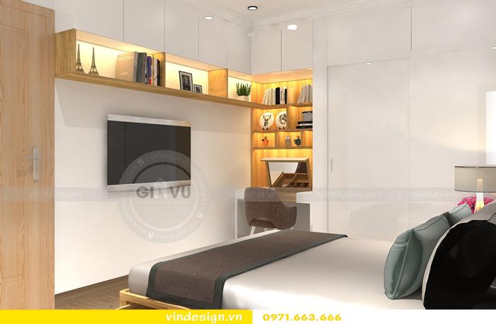 thiết kế nội thất chung cư gardenia tòa A2 10