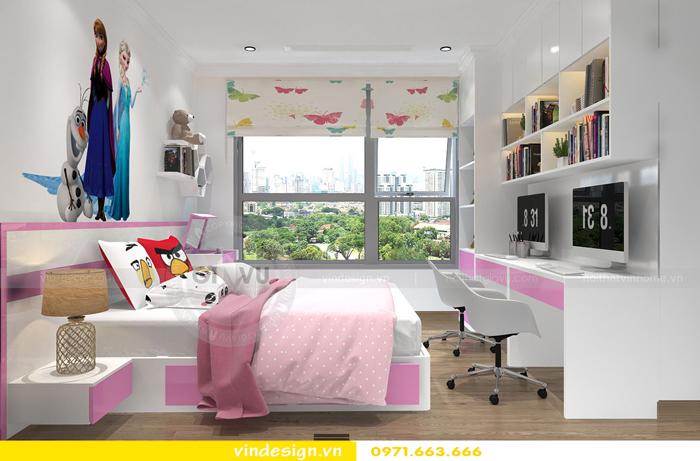 thiết kế nội thất chung cư gardenia tòa A2 13