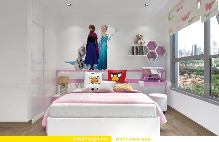 thiết kế nội thất chung cư gardenia tòa A2 14