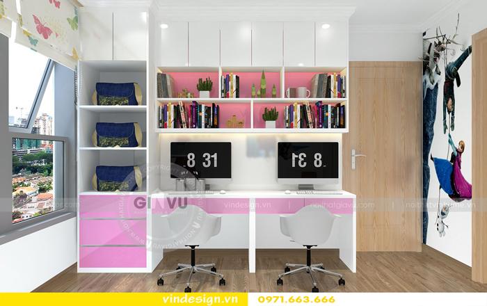 thiết kế nội thất chung cư gardenia tòa A2 15