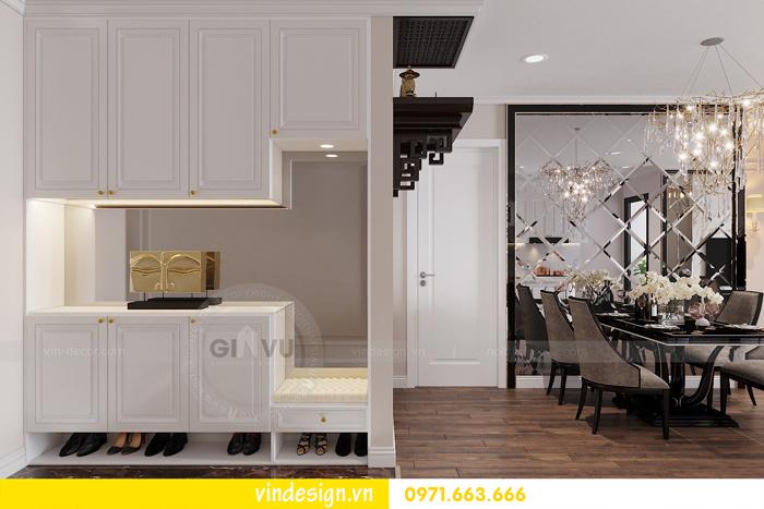 Thiết kế nội thất chung cư Vinhomes Dcapitale sang trọng lịch lãm 01